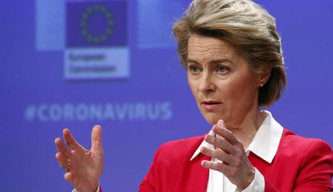 """Úrsula von der Leyen: """"La verdadera Europa se está levantando ..."""