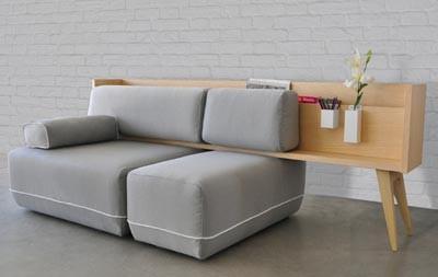 Un sof polivalente y flexible ganador del concurso de for Centro industrial del mueble