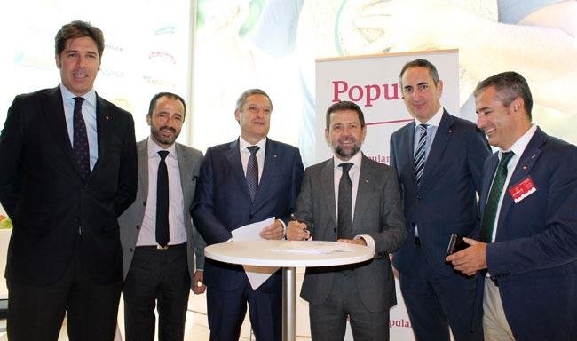 El banco popular favorecer las exportaciones de las for Oficinas banco popular murcia